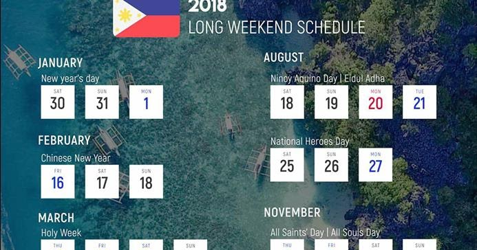 walangpasok deped calendar 2018 long weekend schedule and holidays depedkto12 grade 1 12 daily lesson log teachers guide exams and learning materials