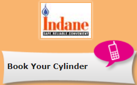 How to book Indane Gas online, via SMS, IVRS & Mobile App