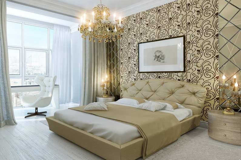 Luxury classic bedroom design ideas and furniture 2018