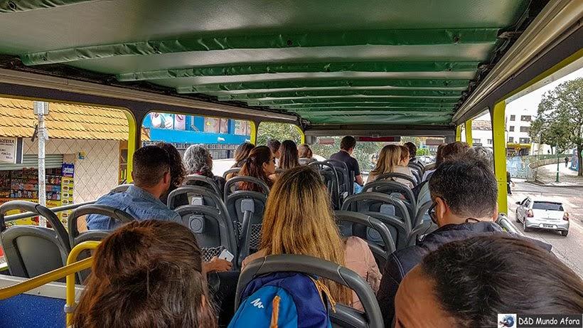 Ônibus Turístico de Curitiba: como funciona a Linha Turismo