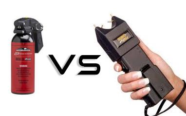 which is better pepper spray or stun guns mace pepper spray gun