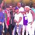 50 Cent traz Meek Mill, Chance The Rapper, Jeezy, Trey Songz, James Harden e Allen Iverson para palco na Drai's