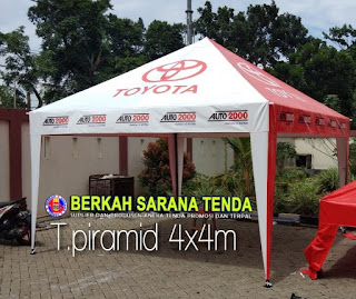 tenda piramida
