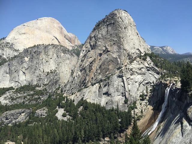 Outdoorsy Mama Hiking Yosemite S Panorama Trail Behind