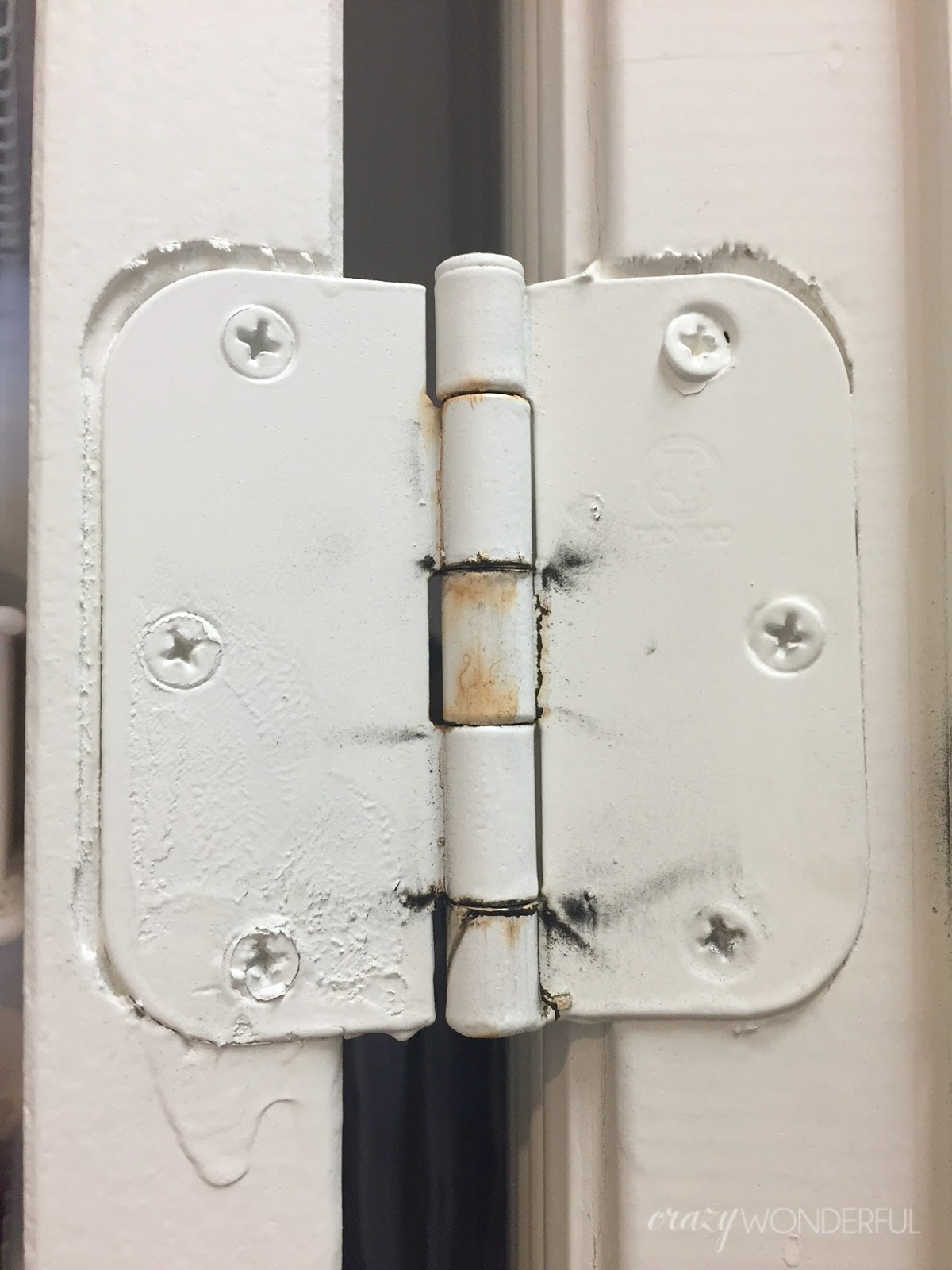 Superior New Hinges Were Obviously The Solution, But I Was Worried About The Price  Seeing As We Had So Many To Replace. I Found These 3.5 Inch Hinges On  Amazon In ...