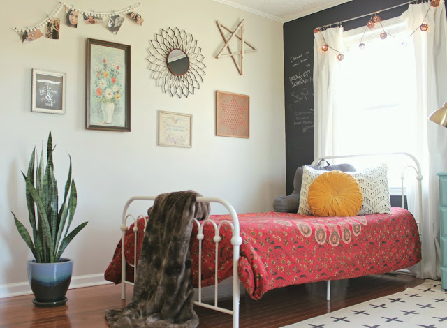 The little farm diary teen girls 39 room reveal a boho - Mature teenage girl bedroom ideas ...
