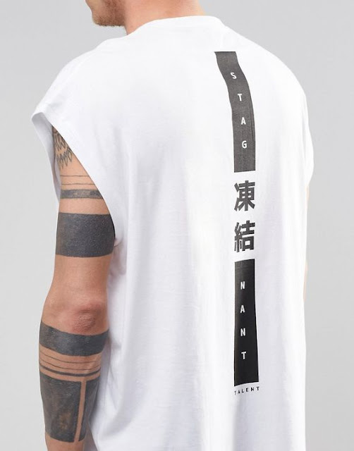 Calitta Blog Camiseta Sleeveless Oversized Sem Manga