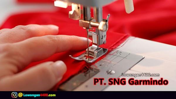 Lowongan Kerja PT. SNG Garmindo Bogor