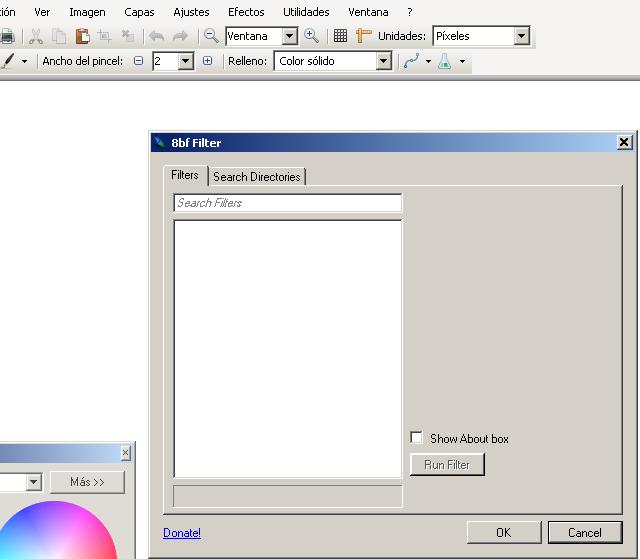 Instalar 8bf plugin de Paint.NET para usar filtros de Photoshop