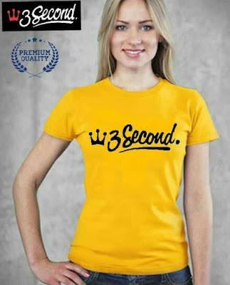 Kaos Wanita Terbaik Masa Kini dari 3second