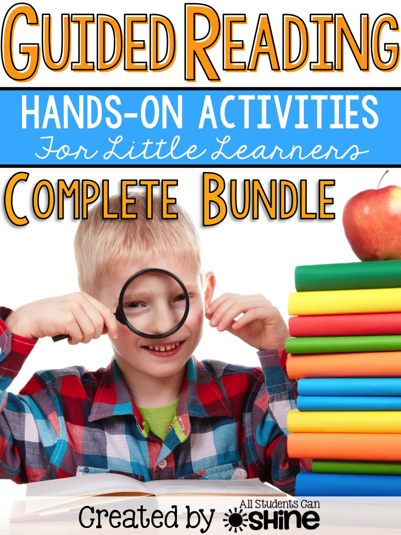 guided reading hands-on games