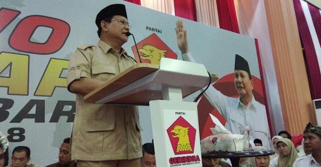 Prabowo:  Nyesel juga Gue enggak Kudeta Dulu, Lihat Negara Begini Sekarang