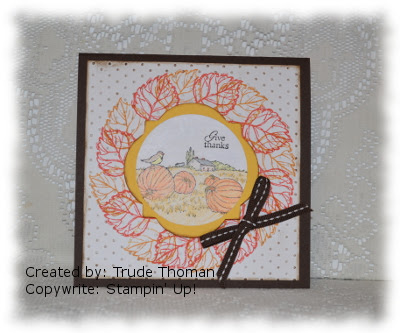 http://stampwithtrude.blogspot.com Stampin' Up! greeting card by Trude Thoman