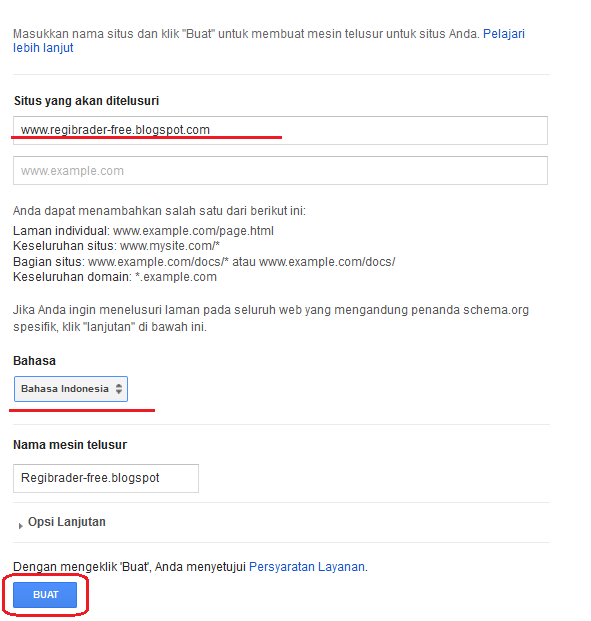 Cara Memasang Google Custom Search di Blog