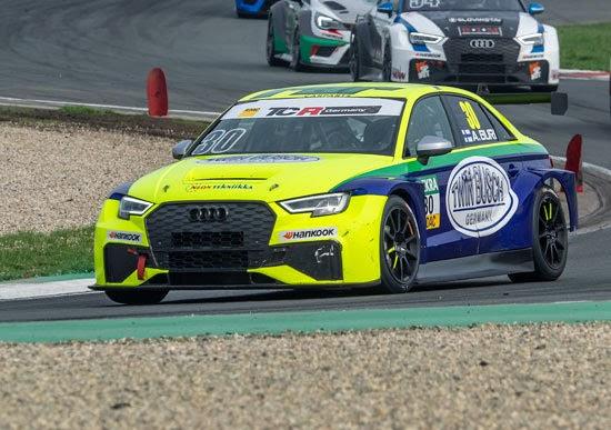 Ersten Saisonsieg für den Audi RS3 LMS durch Antti Buri