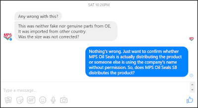 Facebook MPS Oil Seals Sdn Bhd