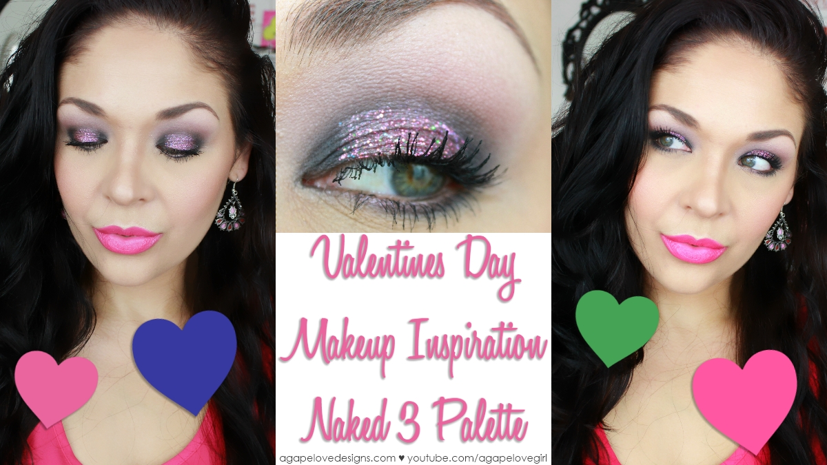 Valentines day makeup looks