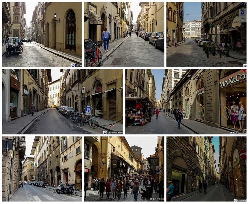 Diário de bordo - 2 dias em Florença