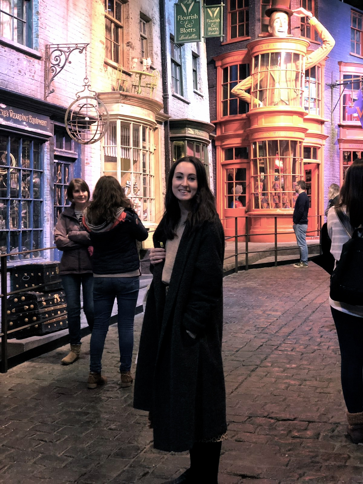 Standing in Diagon Alley