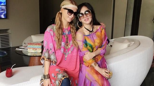 Paris Hilton dan Syahrini
