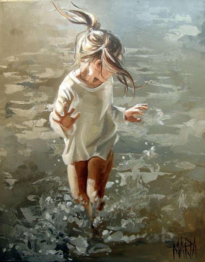 Южноафриканский художник. Maria Oosthuizen