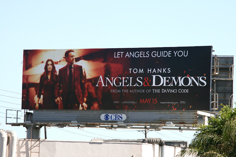 Angels and Demons billboard