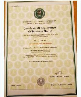 Certificate-giftalworld
