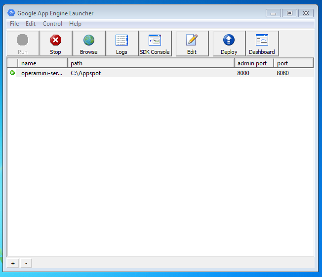 Web proxy appspot