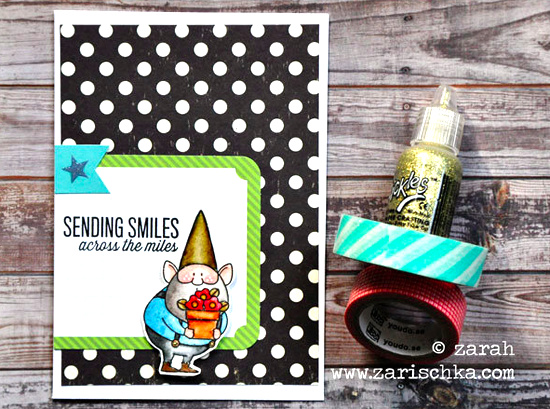 Birdie Brown You Gnome Me Stamp set - Zarah Peterson #mftstamps
