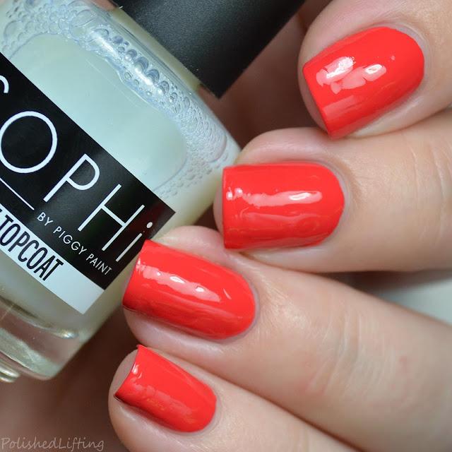 poppy creme nail polish