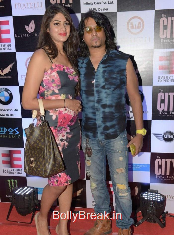 Aziz Zee, Shweta Khanduri Teejay Sidhu Hot Pics at The City Week Ender- A Perfect Luxury Mixer Photo Gallery