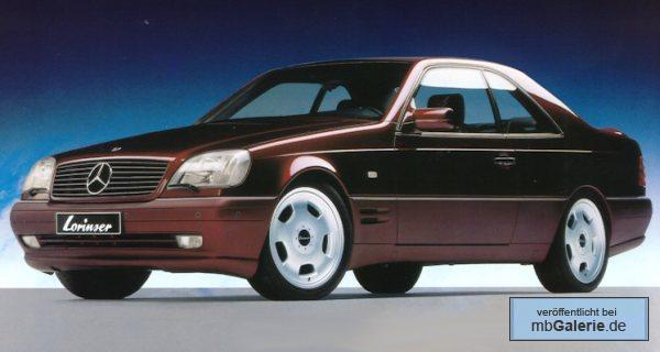 mercedes cl 140 coupe lorinser