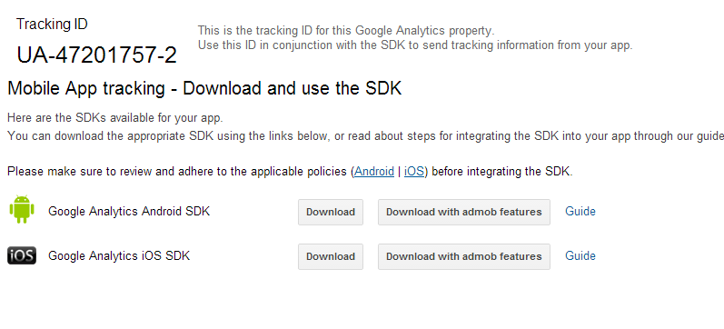 Google analytics in android