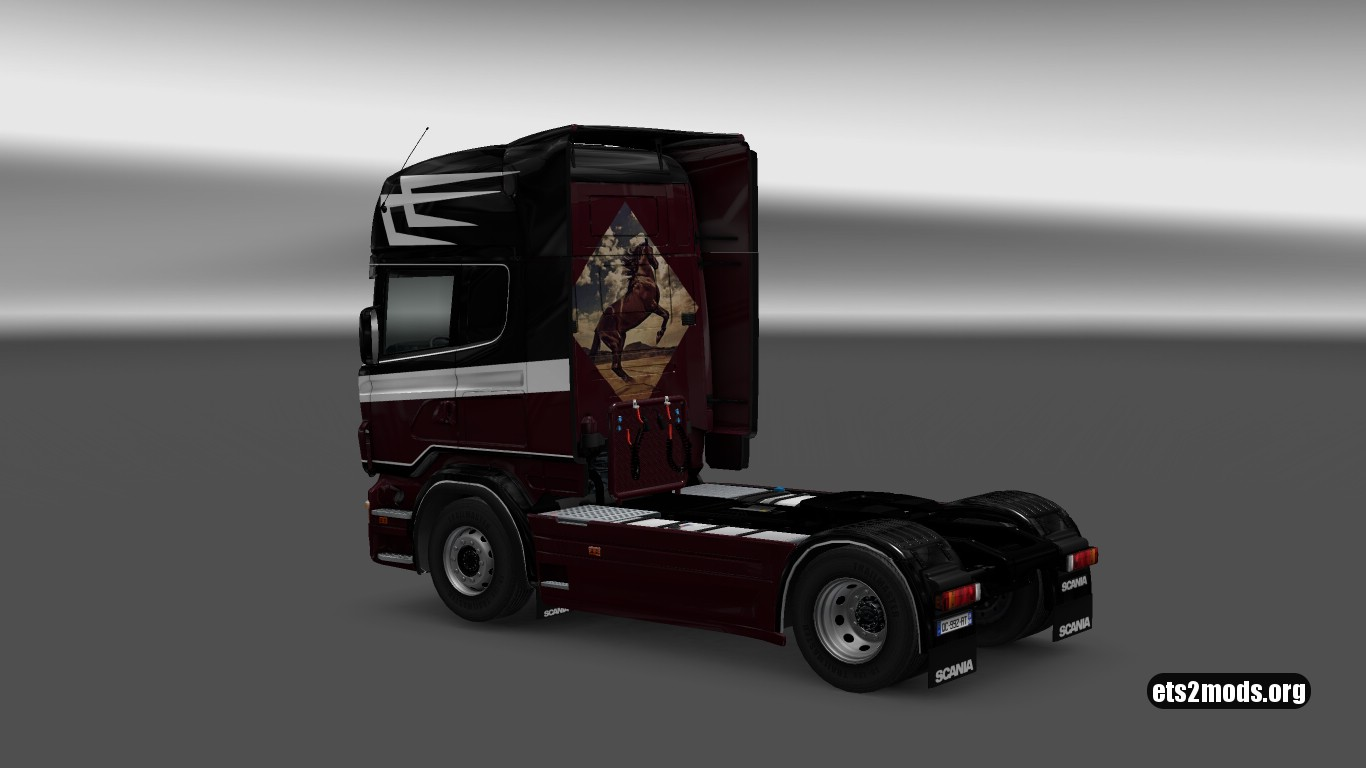 The Little Popeye Skin for Scania RJL