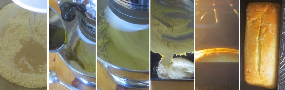 Zubereitung Kastenweißbrot mit Olivenöl - Schritt-für-Schritt-Fotos