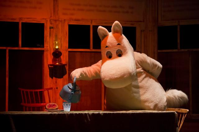 Moomin in Oulu theatre