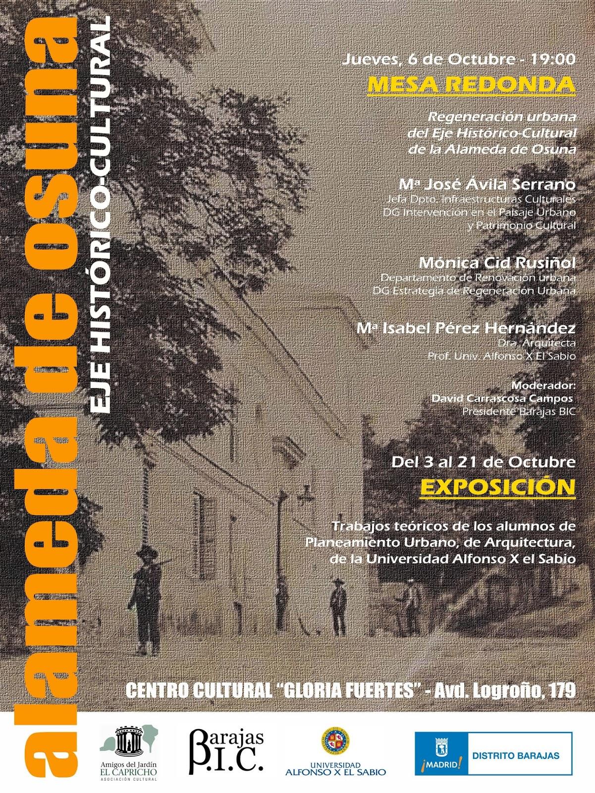 Barajas bic eje hist rico cultural de la alameda de osuna for Jardin historico el capricho paseo alameda de osuna 25