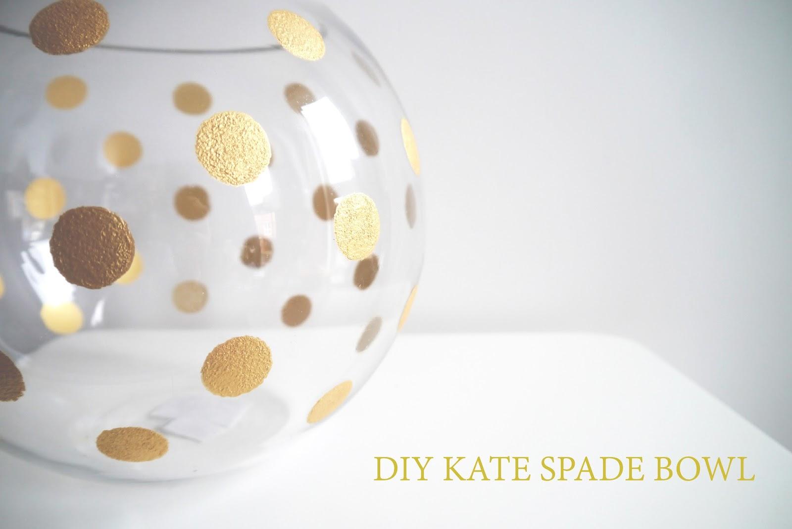 kate spade pearl place rose bowl DIY