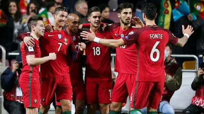 Info dan data lengkap Timnas Portugal di Piala Dunia 2018