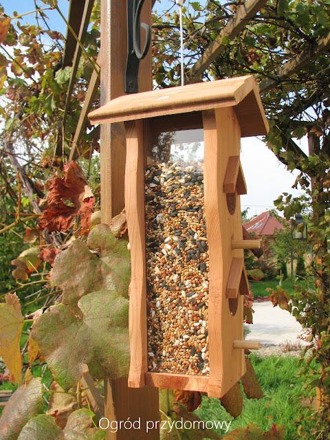 firma semini, porcja zdrowia, dokarmianie ptaków, ogród przydomowy