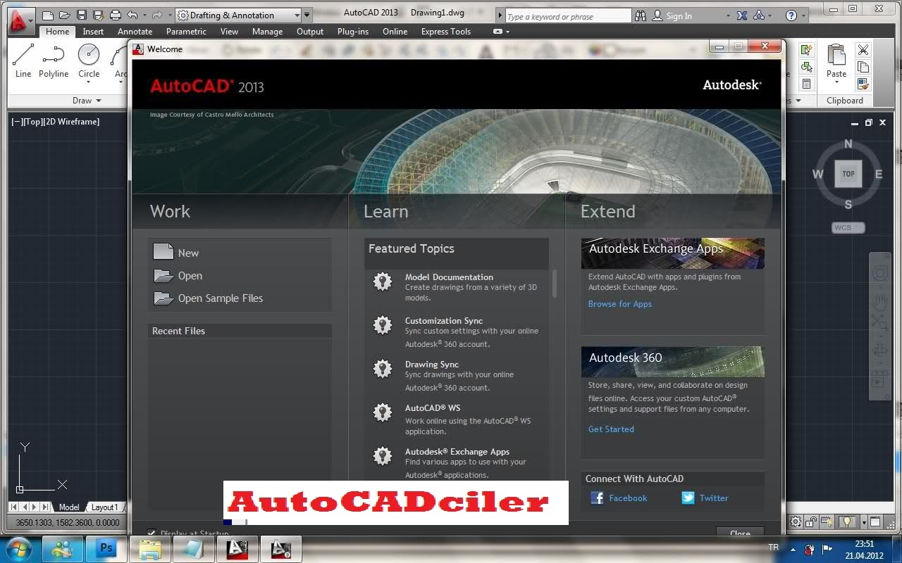 autocad 2013 serial number and product key 64 bit