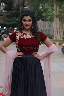 Actress Aathmika in lovely Maraoon Choli ¬  Exclusive Celebrities galleries 034.jpg