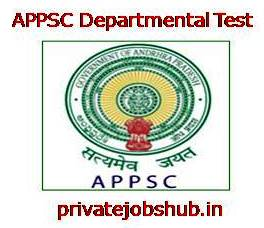 APPSC Departmental Test