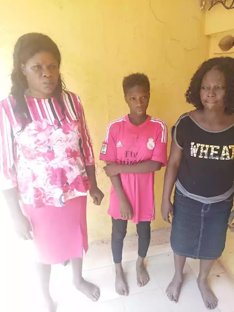 "Mohammed said,"" Police detectives attached to Awada Division arrested one  Ngozi Ede, female, aged 42 years and her daughter Kosiso Ede , female, ..."