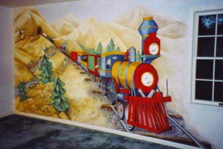 paint a wall mural ideas