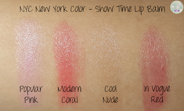 NYC New York Color - Show Time Lip Balm | Kat Stays Polished
