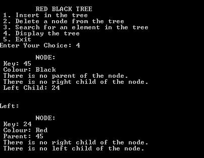 Red Black Tree (RB-Tree) Using C++ | Coders Hub: Android
