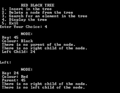 Red Black Tree Using C++