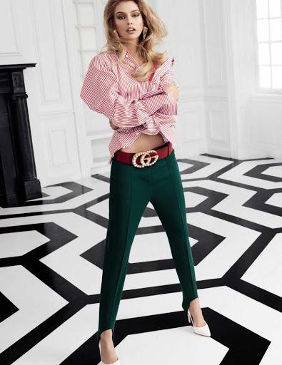Stella Maxwell beauty model photo shoot for Vogue Magazine Espana