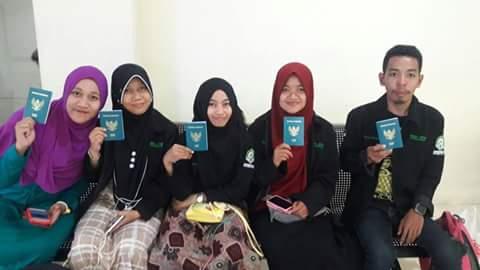 4 Desember 2016, Mahasiswa KKN IAIN Palopo Berangkat ke Sarawak-Malaysia